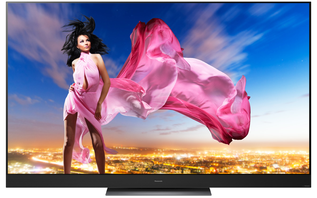Panasonic OLED Fernseher in Hollywood Perfektion